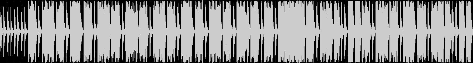 振り子のチクタク、という刻みに乗ったゆ…の未再生の波形