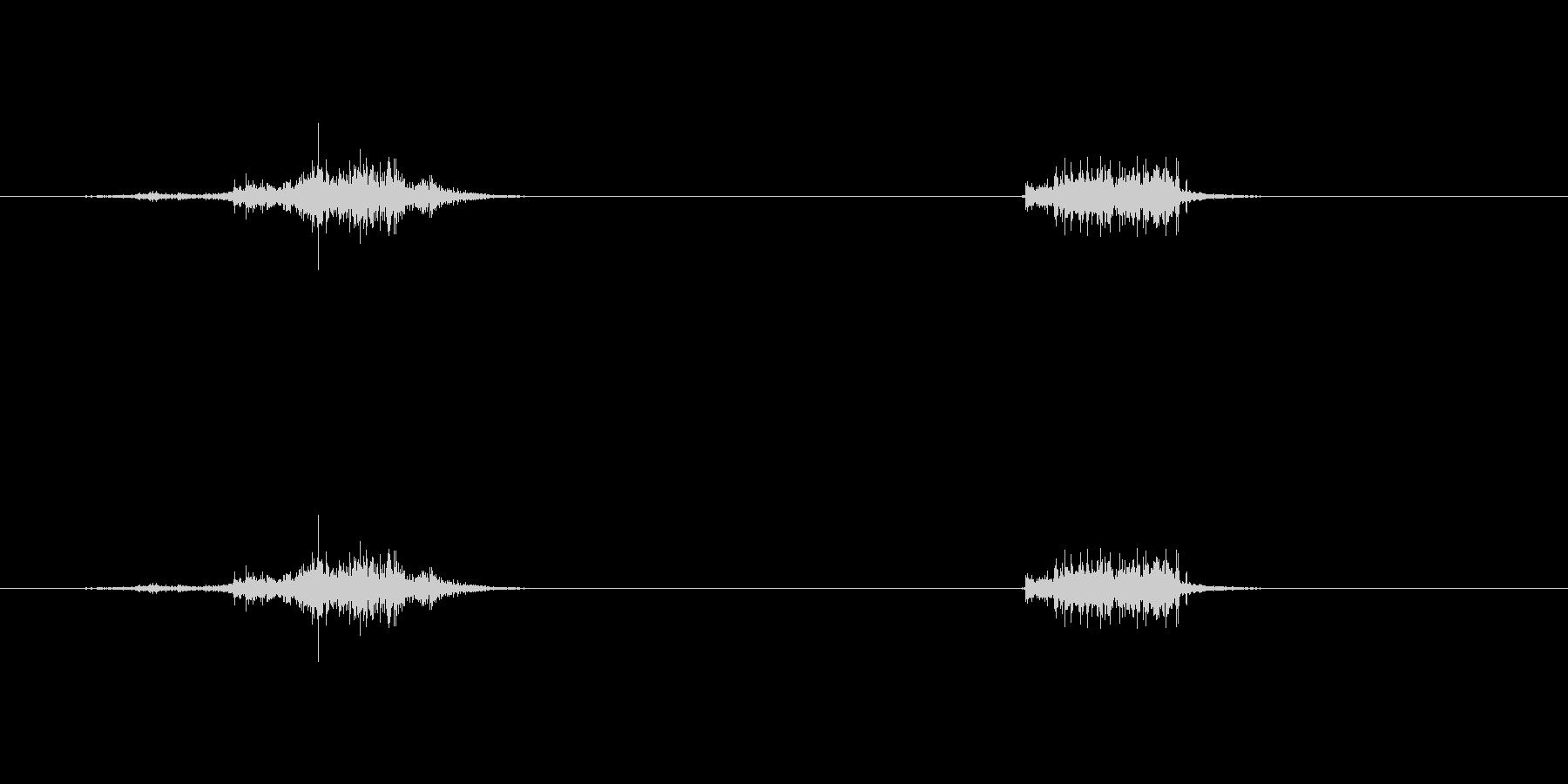 【クラフトテープ01-1(引く・切る)】の未再生の波形