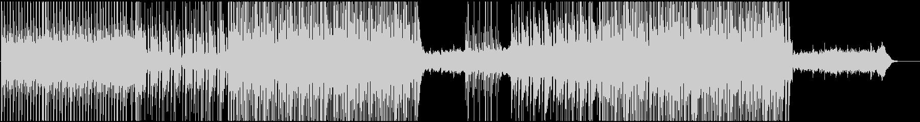 トロピカルでチルいリラックス系ハウスの未再生の波形