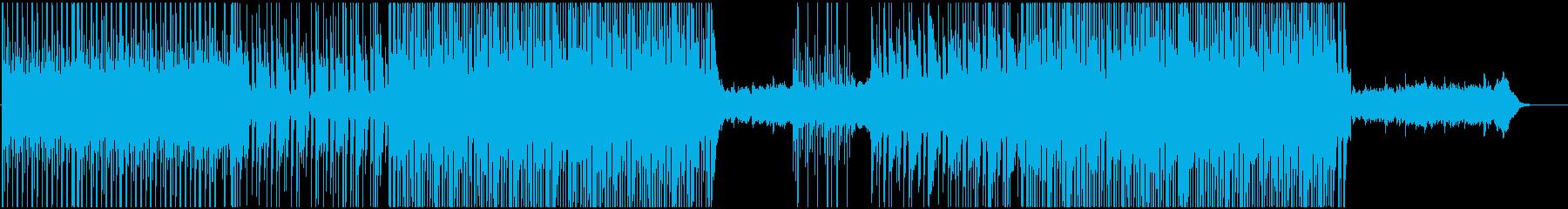 トロピカルでチルいリラックス系ハウスの再生済みの波形