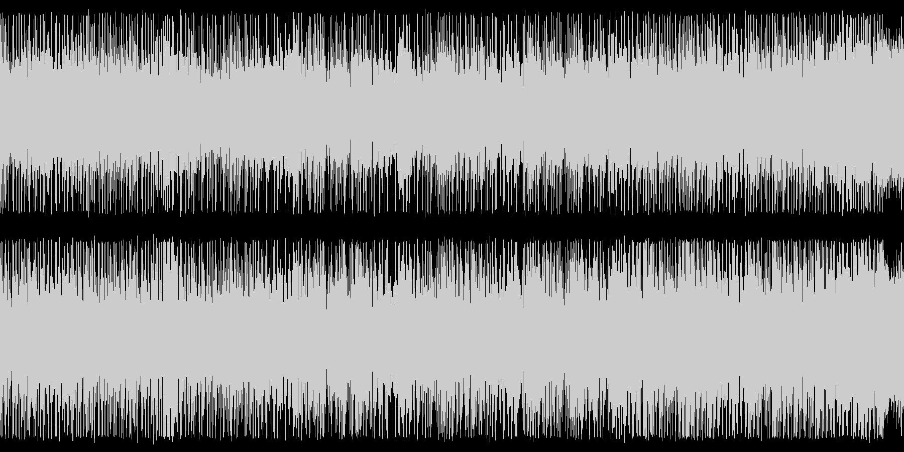 グッドエンディング(LOOP対応)の未再生の波形