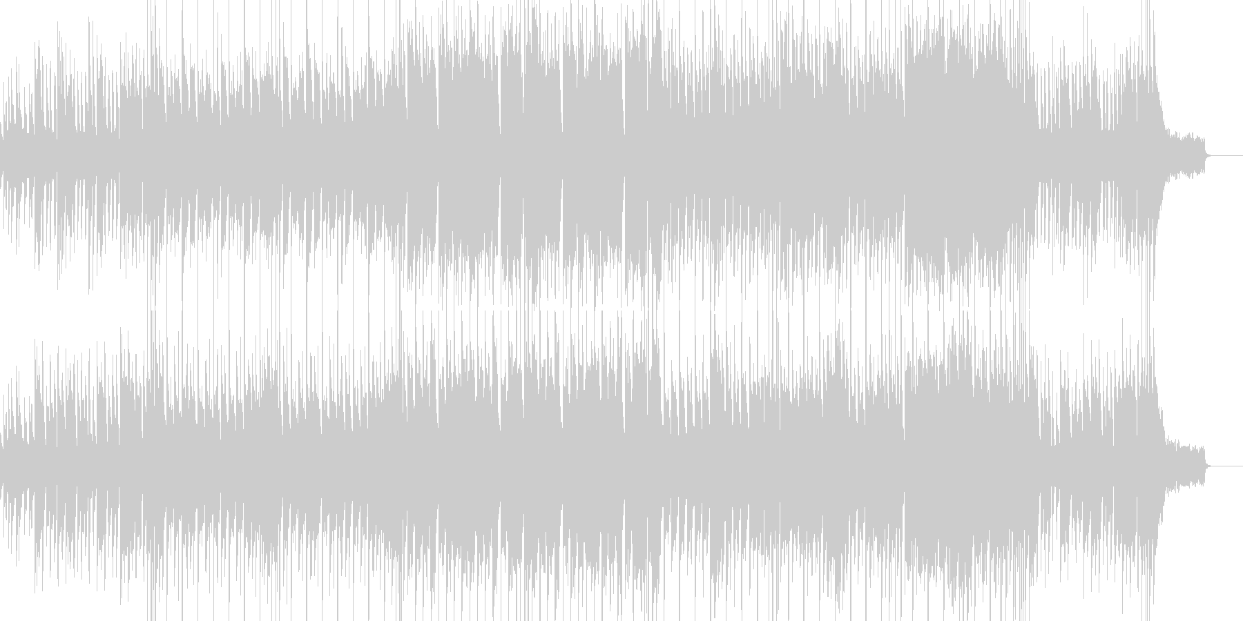 南洋・エスニック・騒がしいの未再生の波形