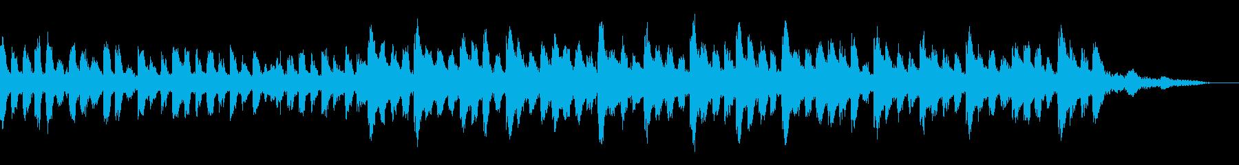 【15秒】かわいい感じのゆるやかテクノの再生済みの波形