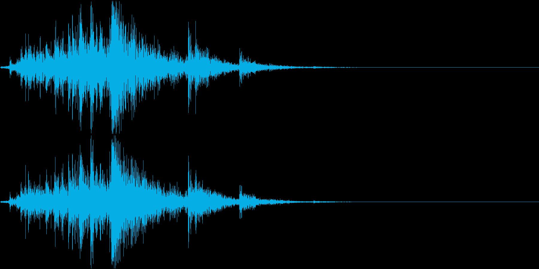 Gear 機械仕掛け・ギアの音 単発の再生済みの波形