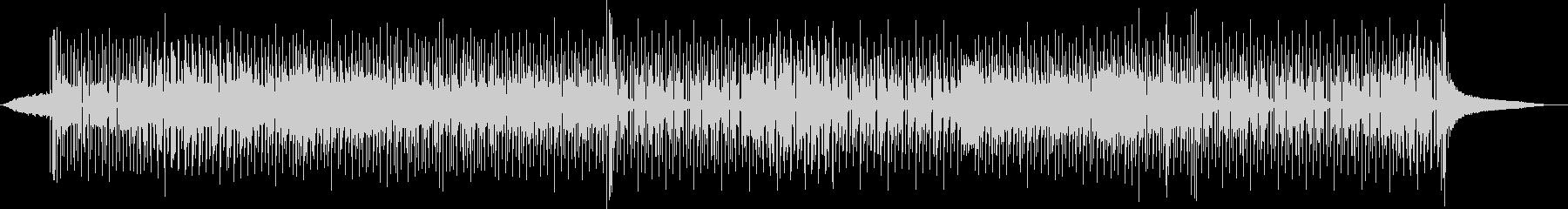 レトロなファンキーディスコの未再生の波形