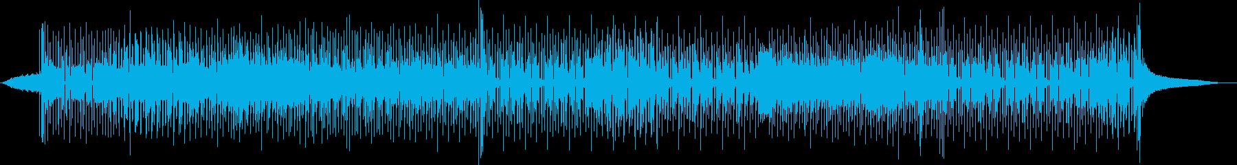 レトロなファンキーディスコの再生済みの波形