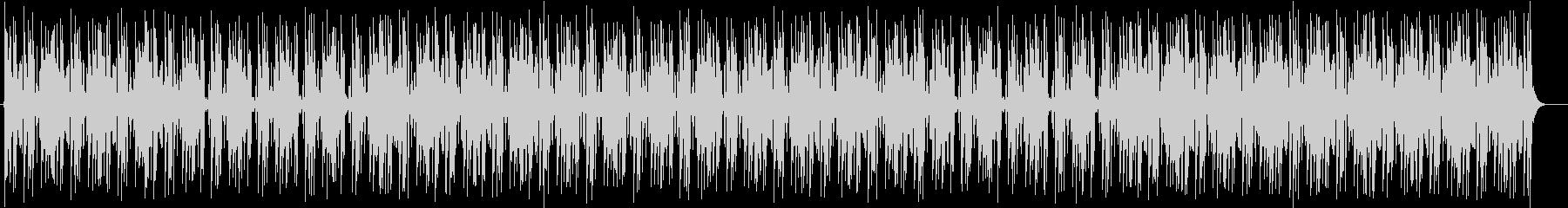 軽やかで涼しげなシンセサイザーサウンドの未再生の波形