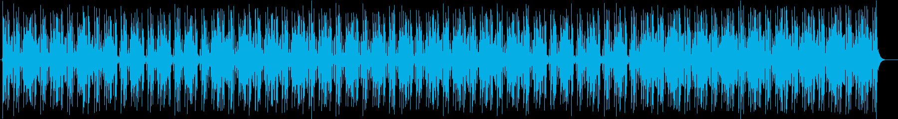軽やかで涼しげなシンセサイザーサウンドの再生済みの波形
