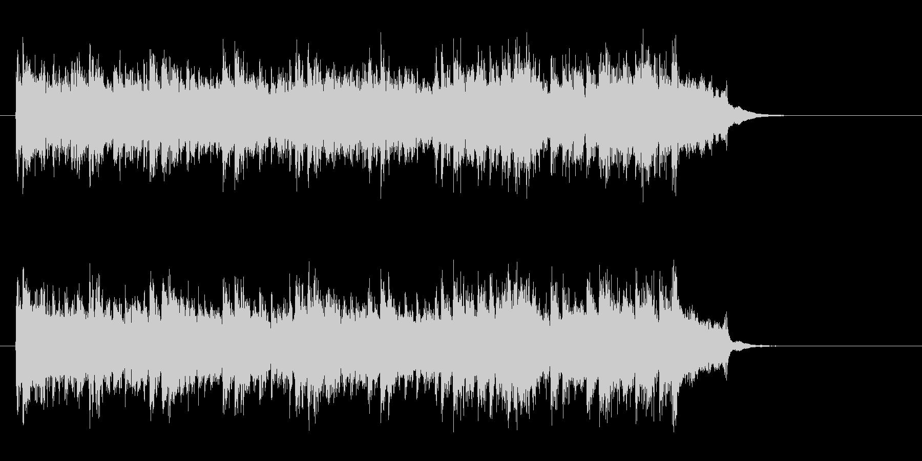アコースティック風BGM(イントロ)の未再生の波形