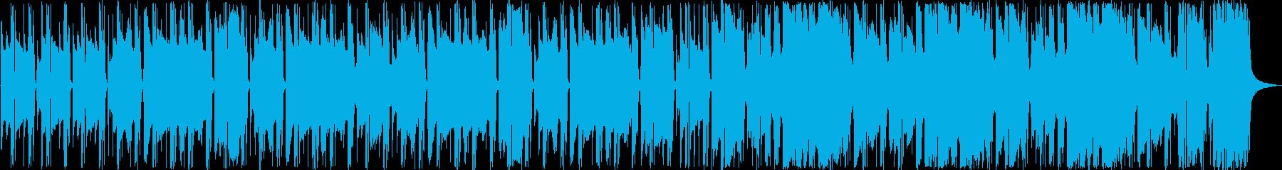 (リバーブ少)小ホール、さわやかな朝の再生済みの波形