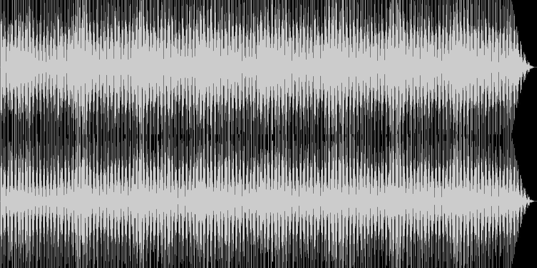 お洒落でキャッチーなシンセサイザーポップの未再生の波形