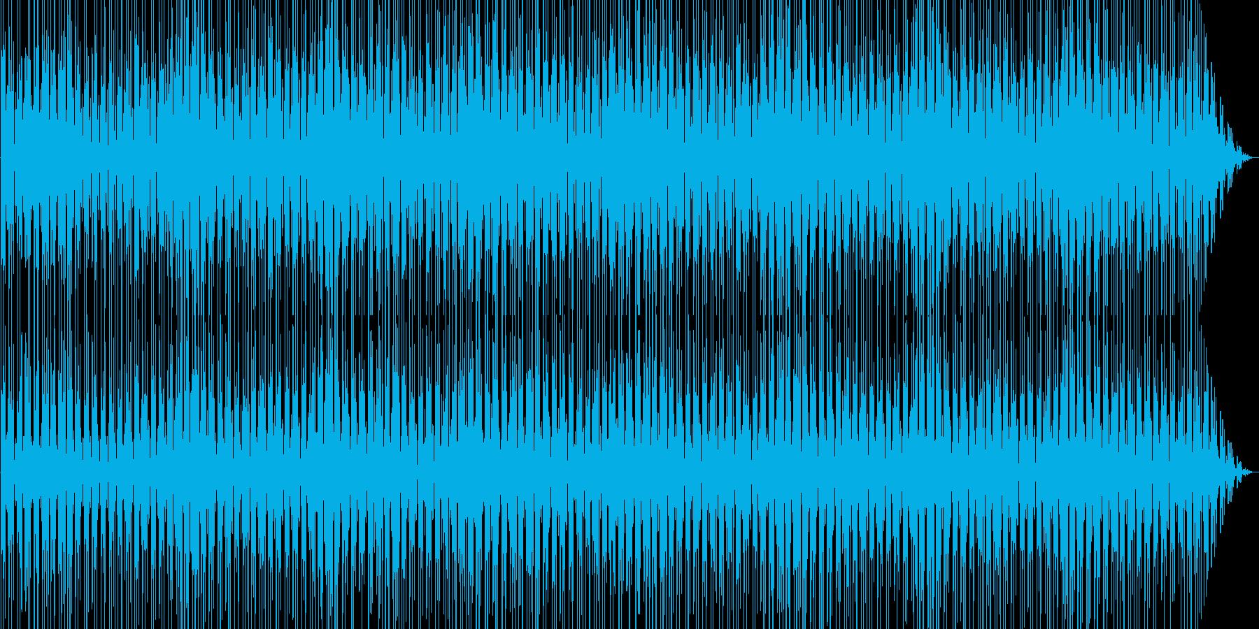 お洒落でキャッチーなシンセサイザーポップの再生済みの波形