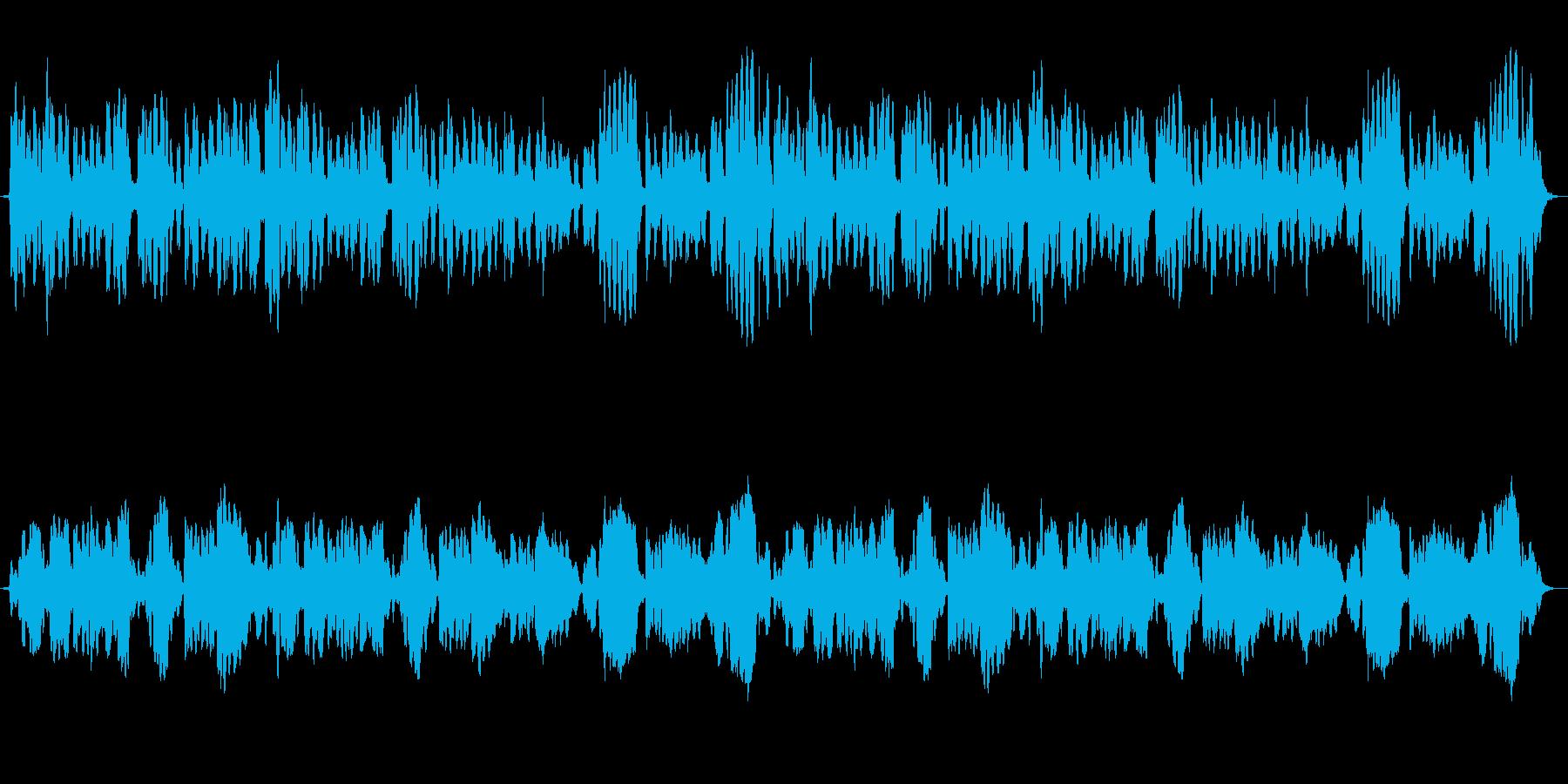 穏やかなフルート三重奏のアンサンブル(…の再生済みの波形