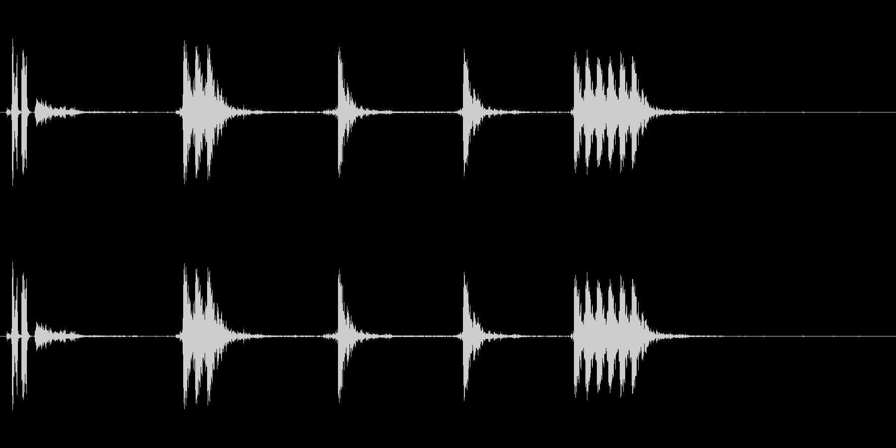 銃の音 (3)の未再生の波形