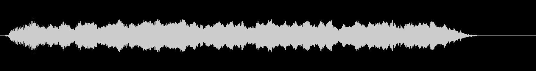汽笛の音圧ラジオ・TV規格の未再生の波形