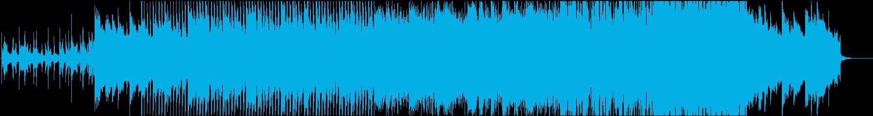 ピアノが印象的なエレクトロニカ、映像等にの再生済みの波形
