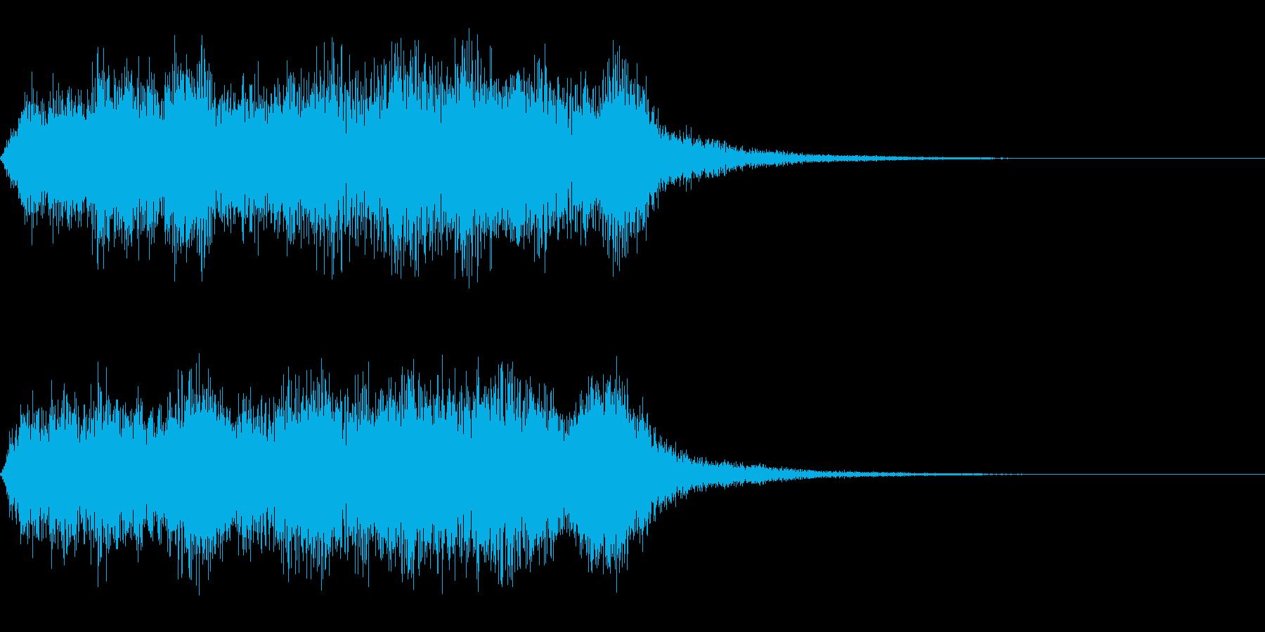 勝利レベルアップジングル オーケストラの再生済みの波形