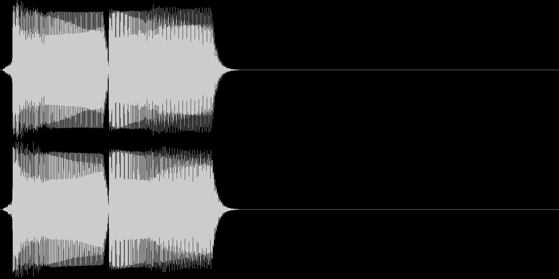 ワーヨ(ゲーム、ロボ、アプリ)の未再生の波形