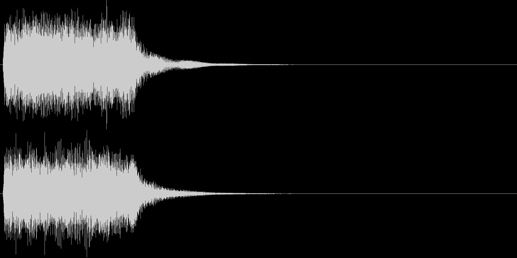 汎用20 ジャーン(豪華な打楽器付)の未再生の波形