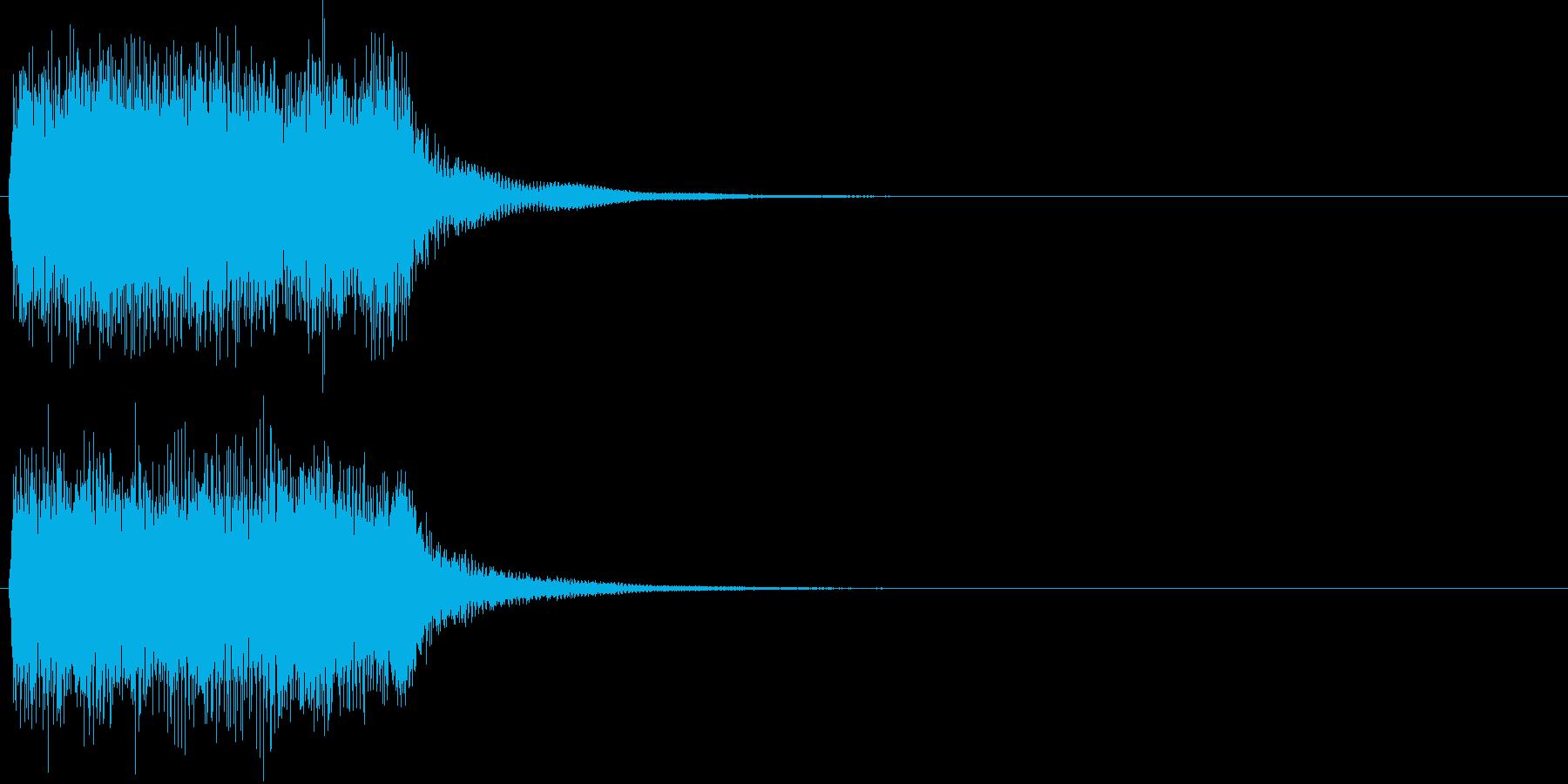 汎用20 ジャーン(豪華な打楽器付)の再生済みの波形
