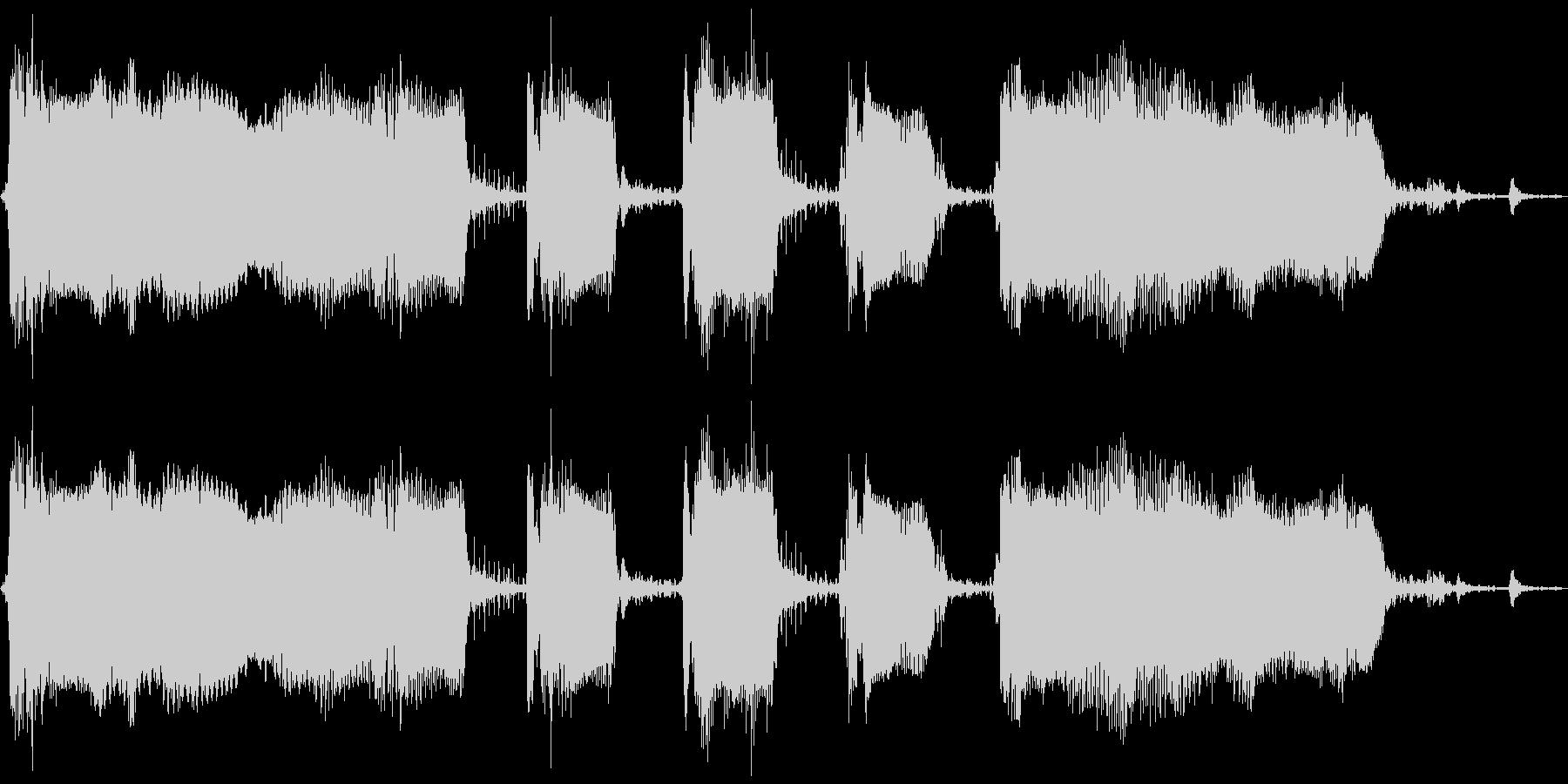 【エレキ ギター】ワウペダルの未再生の波形