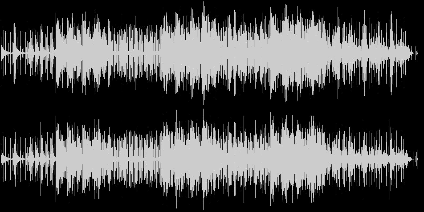 緩やかでメローなシンセサウンドの未再生の波形
