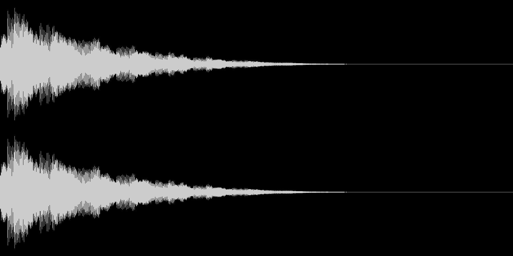 キラキラ…/流れ星/光るの未再生の波形