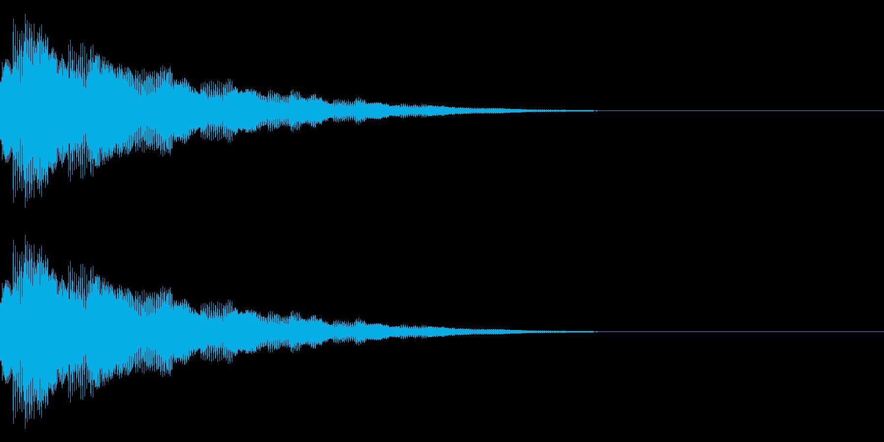 キラキラ…/流れ星/光るの再生済みの波形