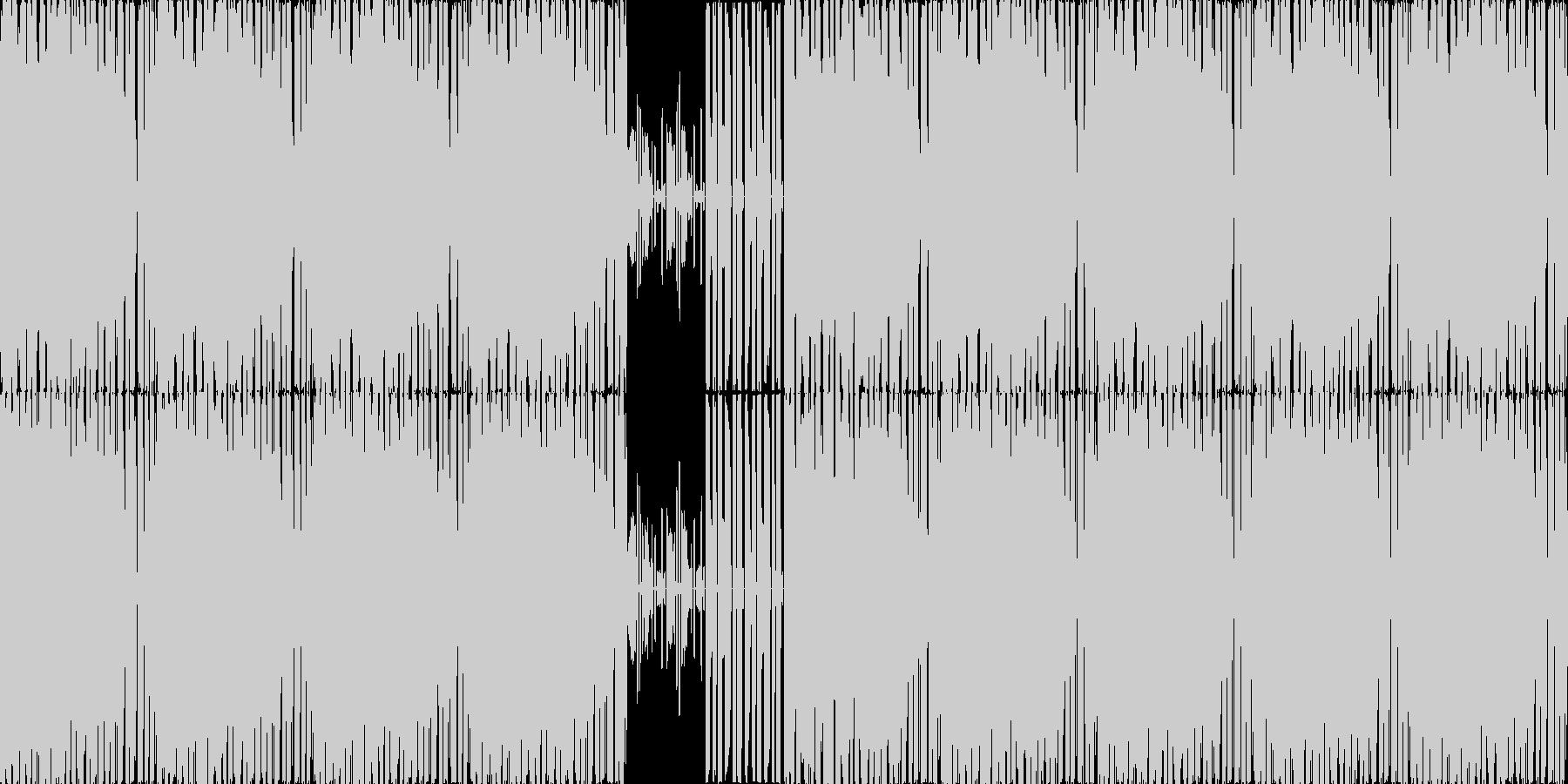 【スタイリッシュハウス・テクノ】の未再生の波形
