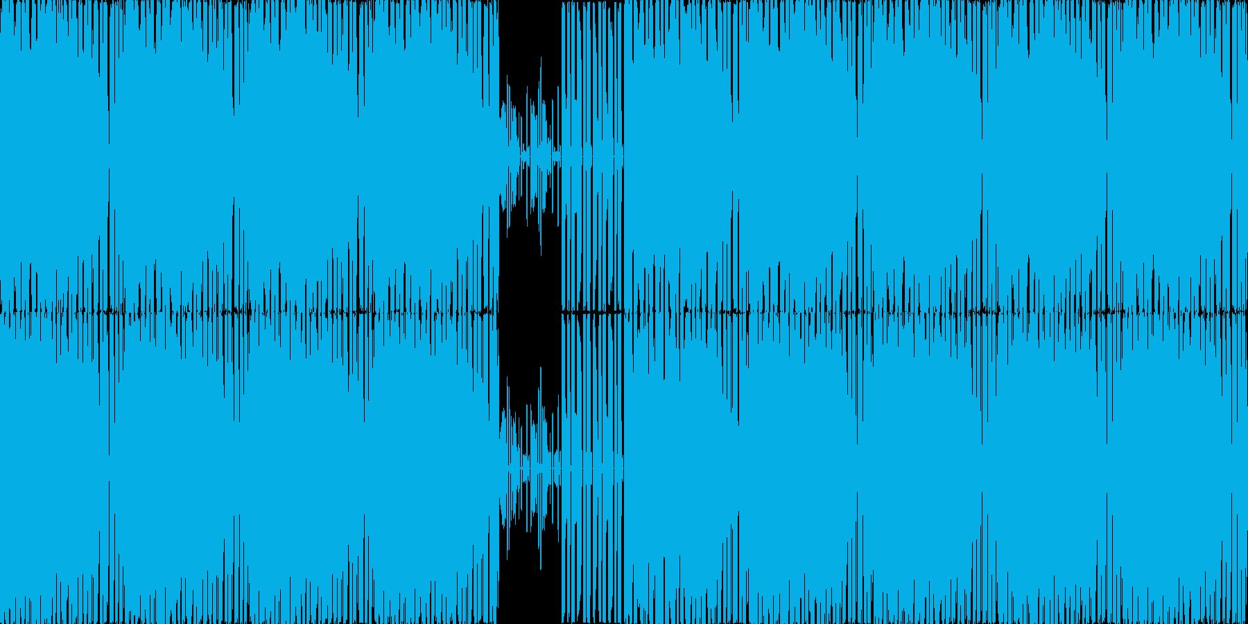 【スタイリッシュハウス・テクノ】の再生済みの波形