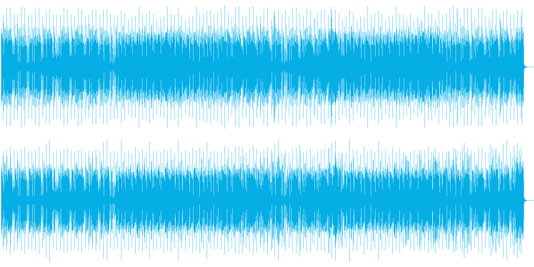楽しげでおしゃれなギターサウンドの再生済みの波形