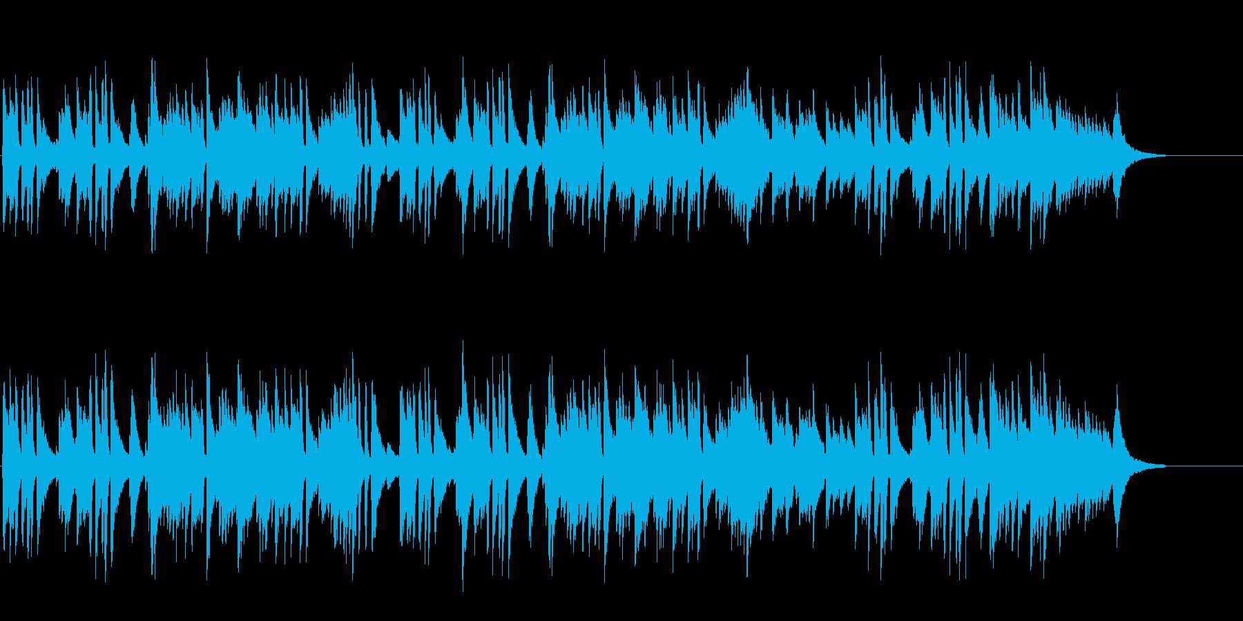 緩やかな風の落ち着いたピアノ・ソロ/BGの再生済みの波形