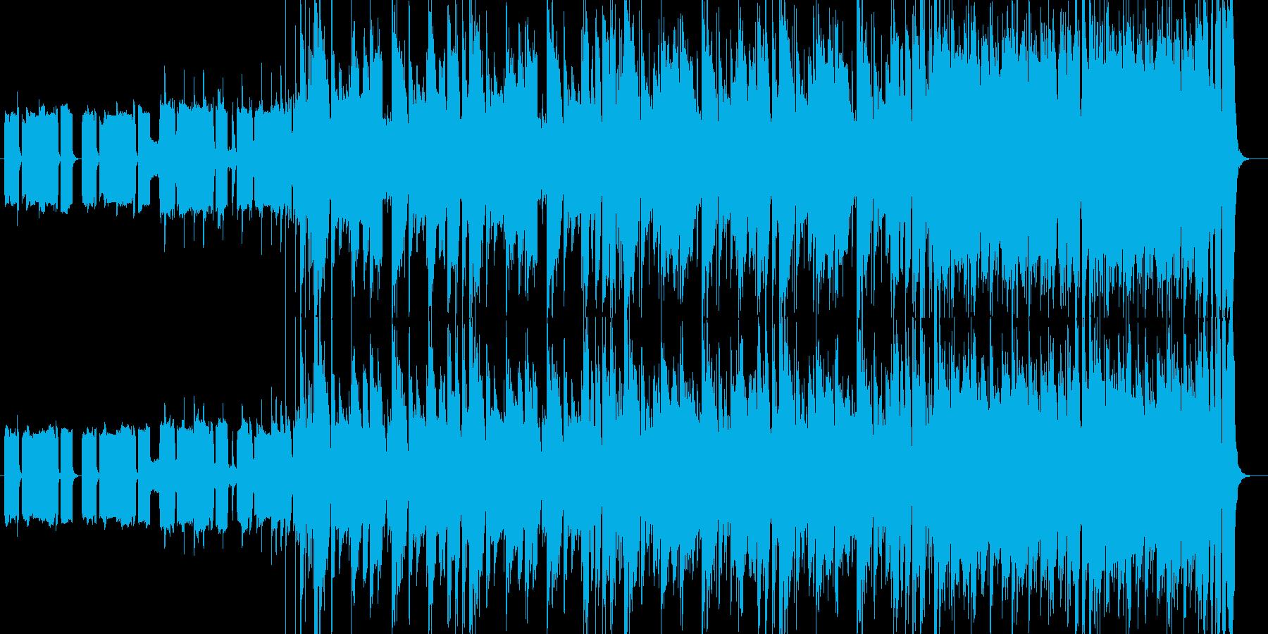 クールでグルーヴィなファンクチューンの再生済みの波形