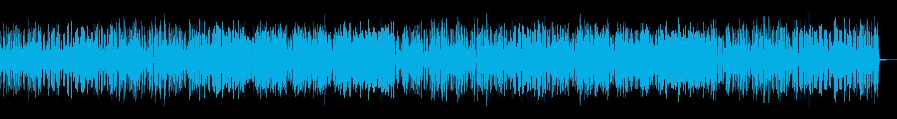 楽しくわいわいするようなカントリーBGMの再生済みの波形