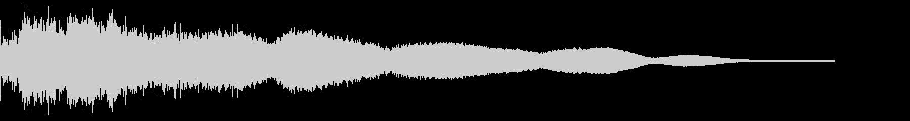 ホラー サスペンス 不思議 鐘 洞窟 Gの未再生の波形