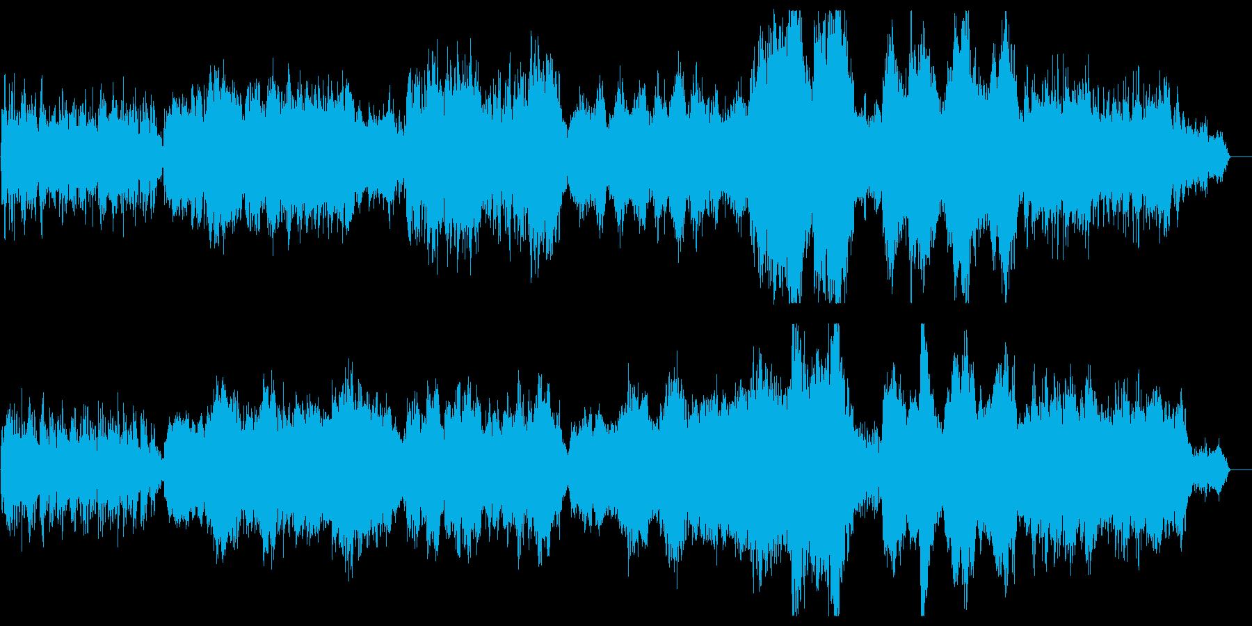 朗らかで優しいリラクゼーションサウンドの再生済みの波形