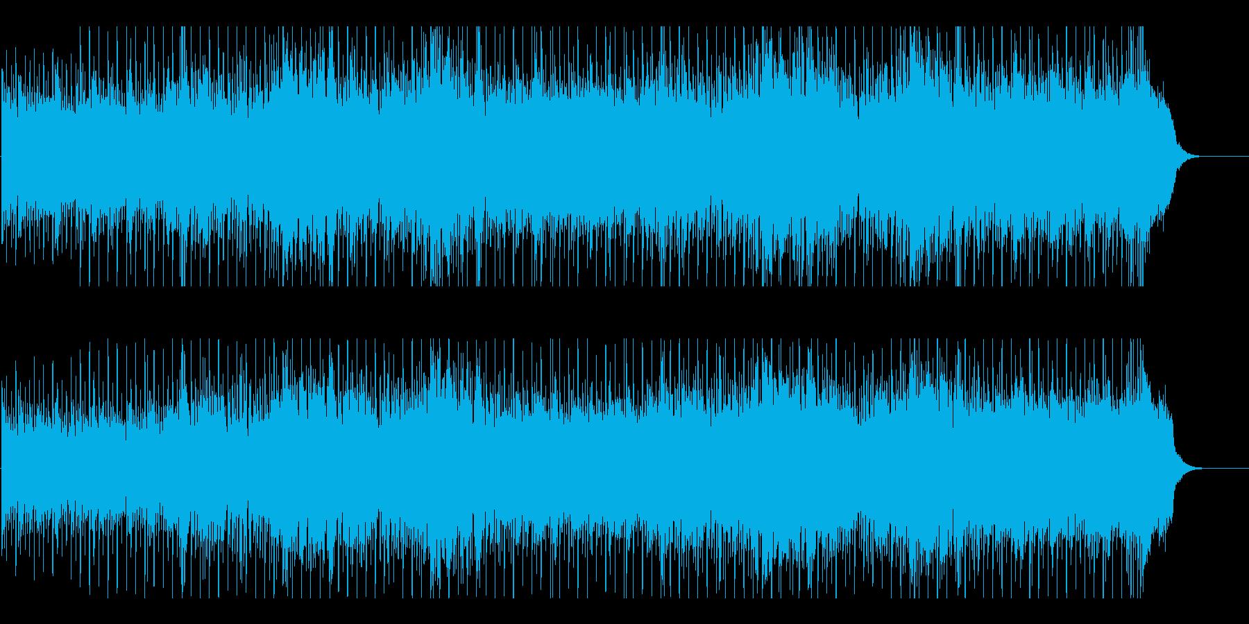 軽快 さわやか 前進 アウトドア 情報の再生済みの波形