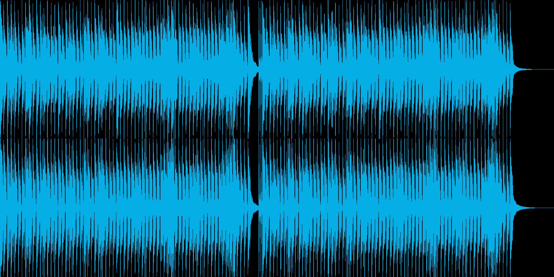カワイイ。軽いノリの明るいポップス-04の再生済みの波形