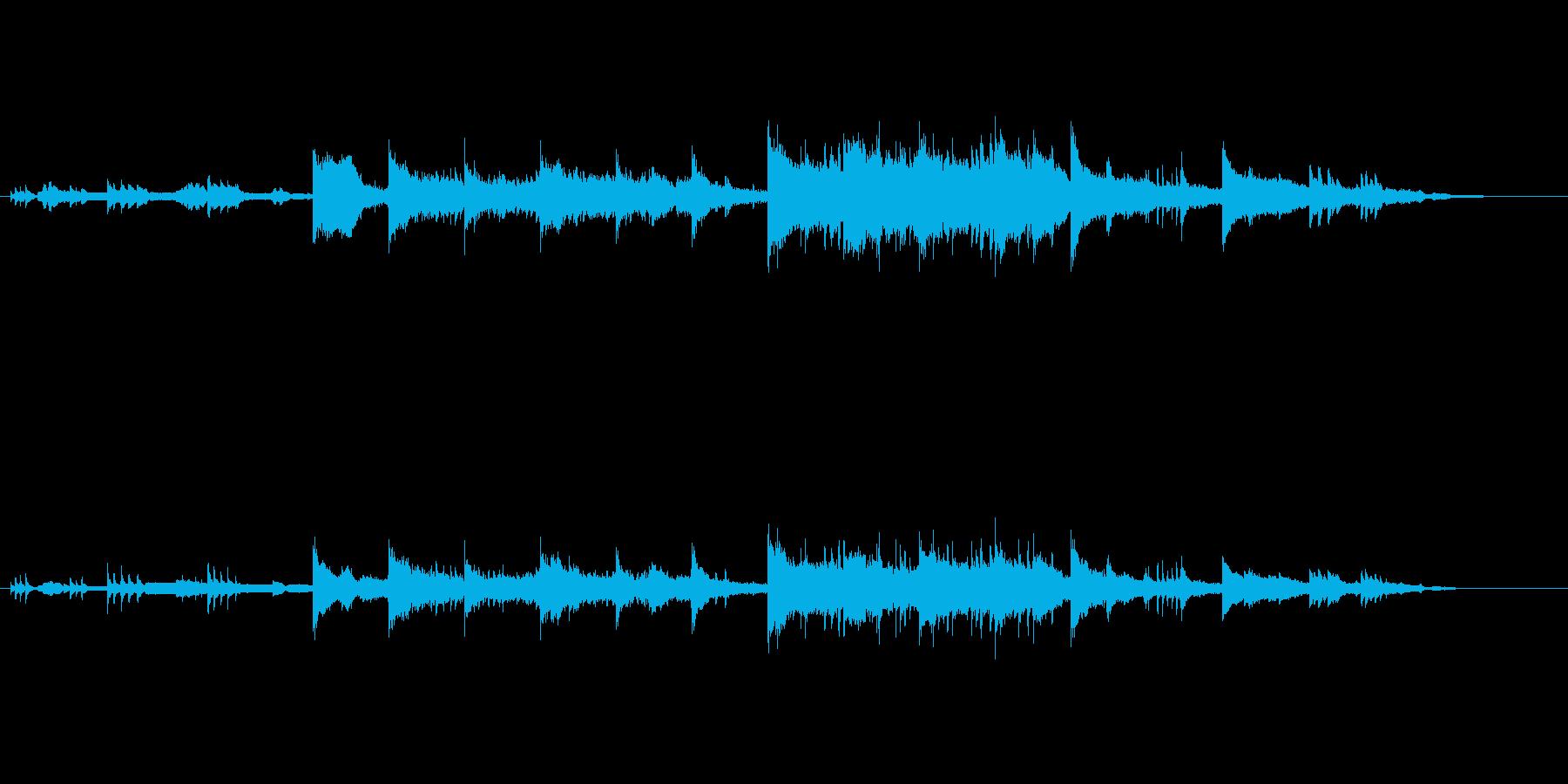 邦楽特選3城下町の再生済みの波形
