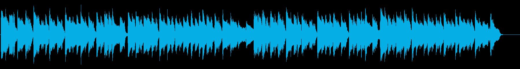 胸を打つ感動的Aギターとピアノのバラードの再生済みの波形