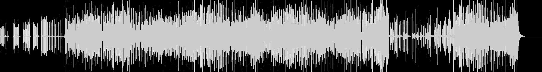 モジュラーシンセのような懐古曲の未再生の波形