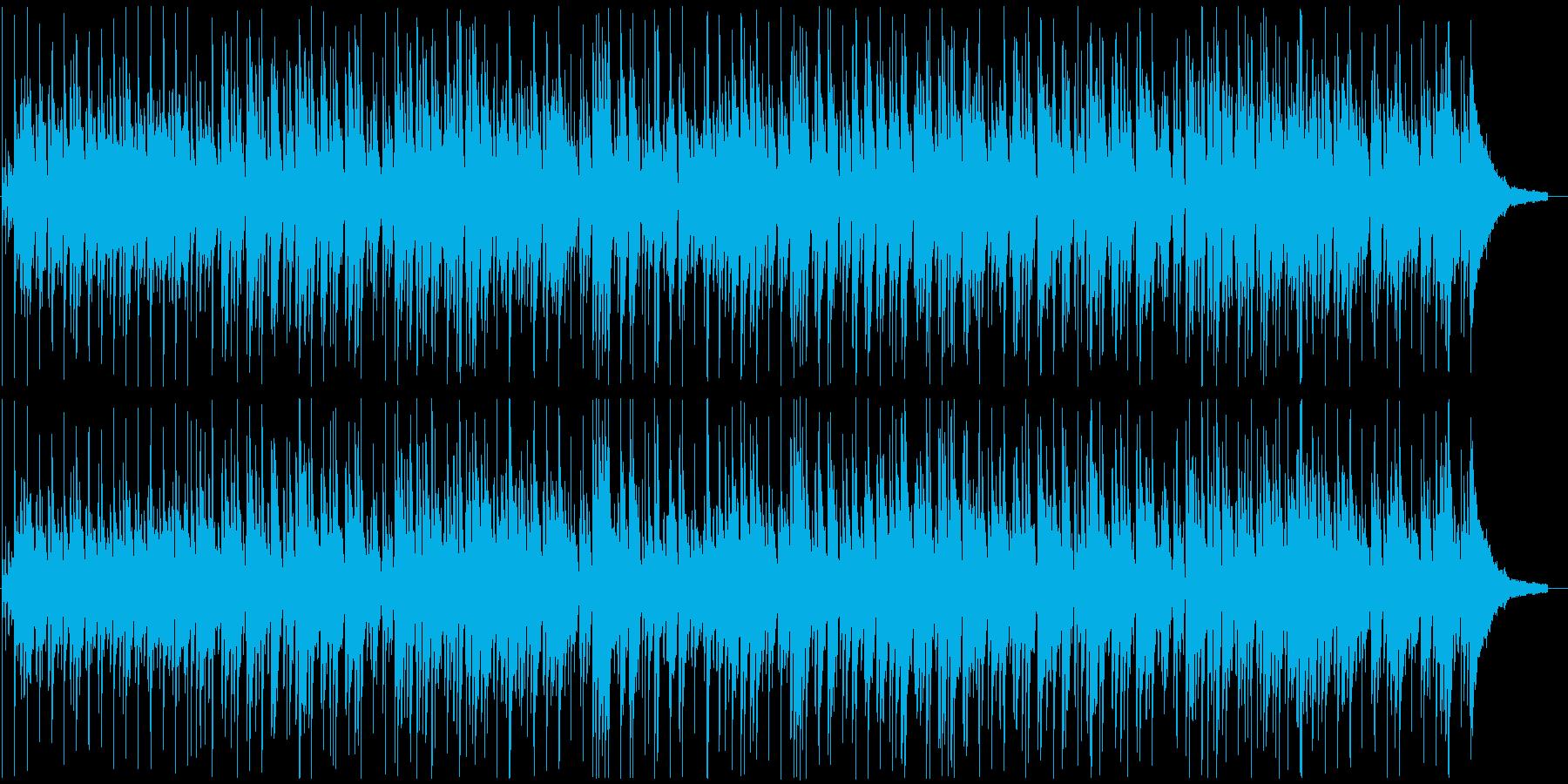 ボサノバ風な心地よいサウンドの再生済みの波形