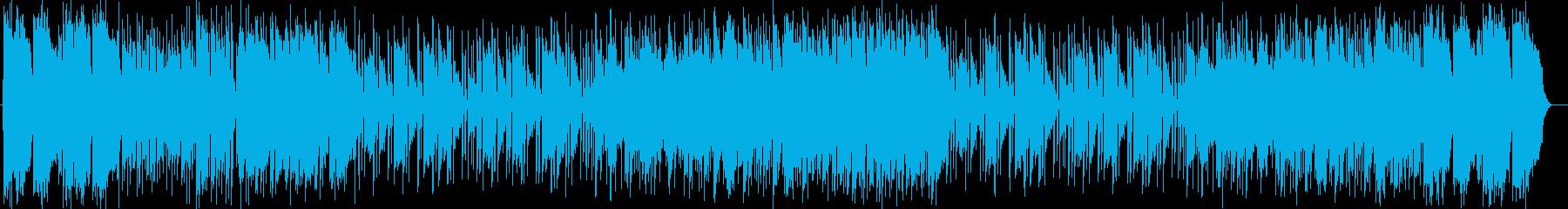 明るく元気なシンセサイザーポップスの再生済みの波形