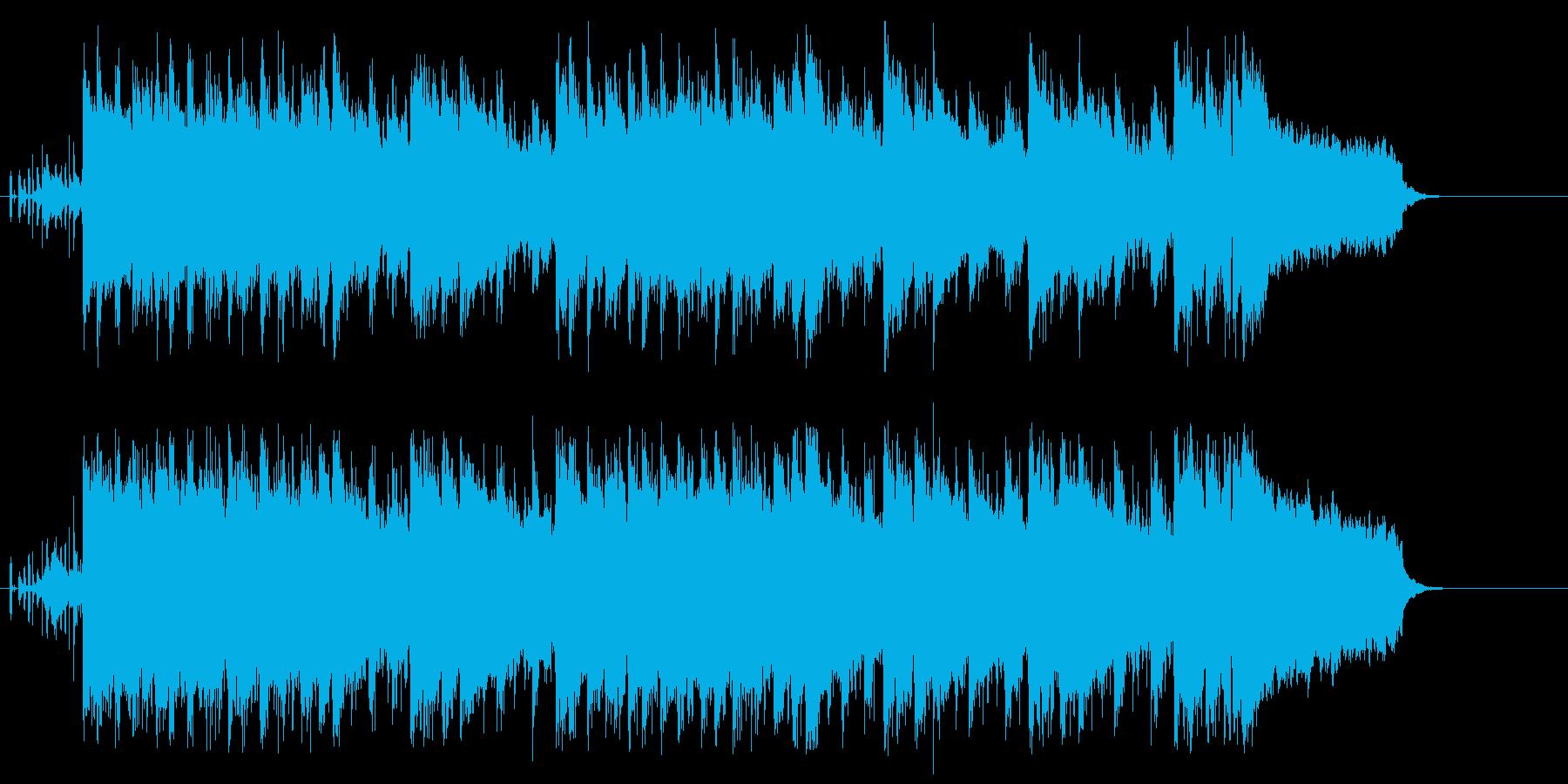 天気予報、インフォメーションタイトルの再生済みの波形