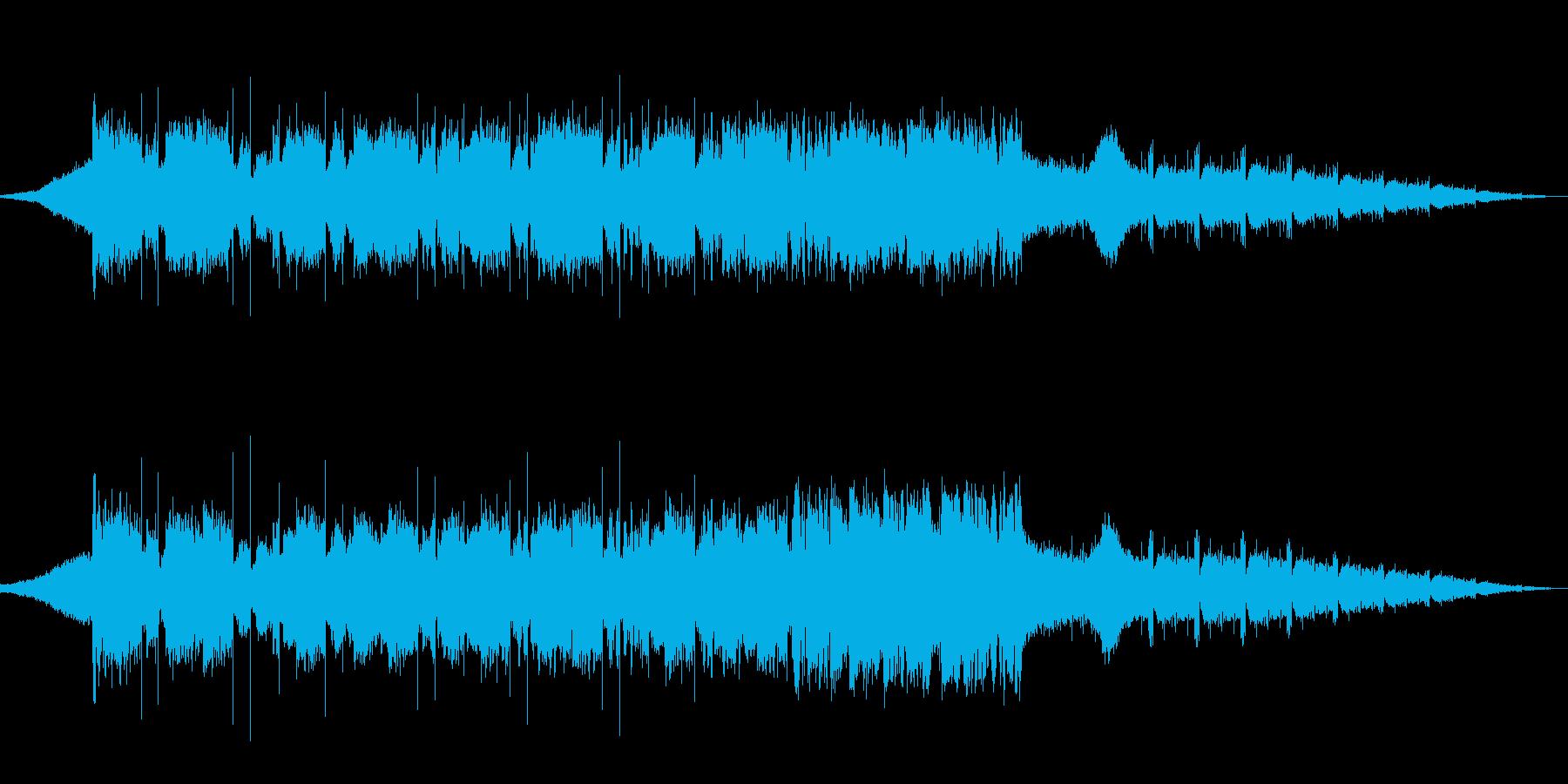 映像向け ジャズっぽい曲と言われたらの再生済みの波形