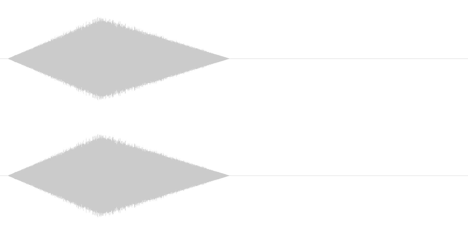 レトロゲーム風・魔法詠唱#1の未再生の波形