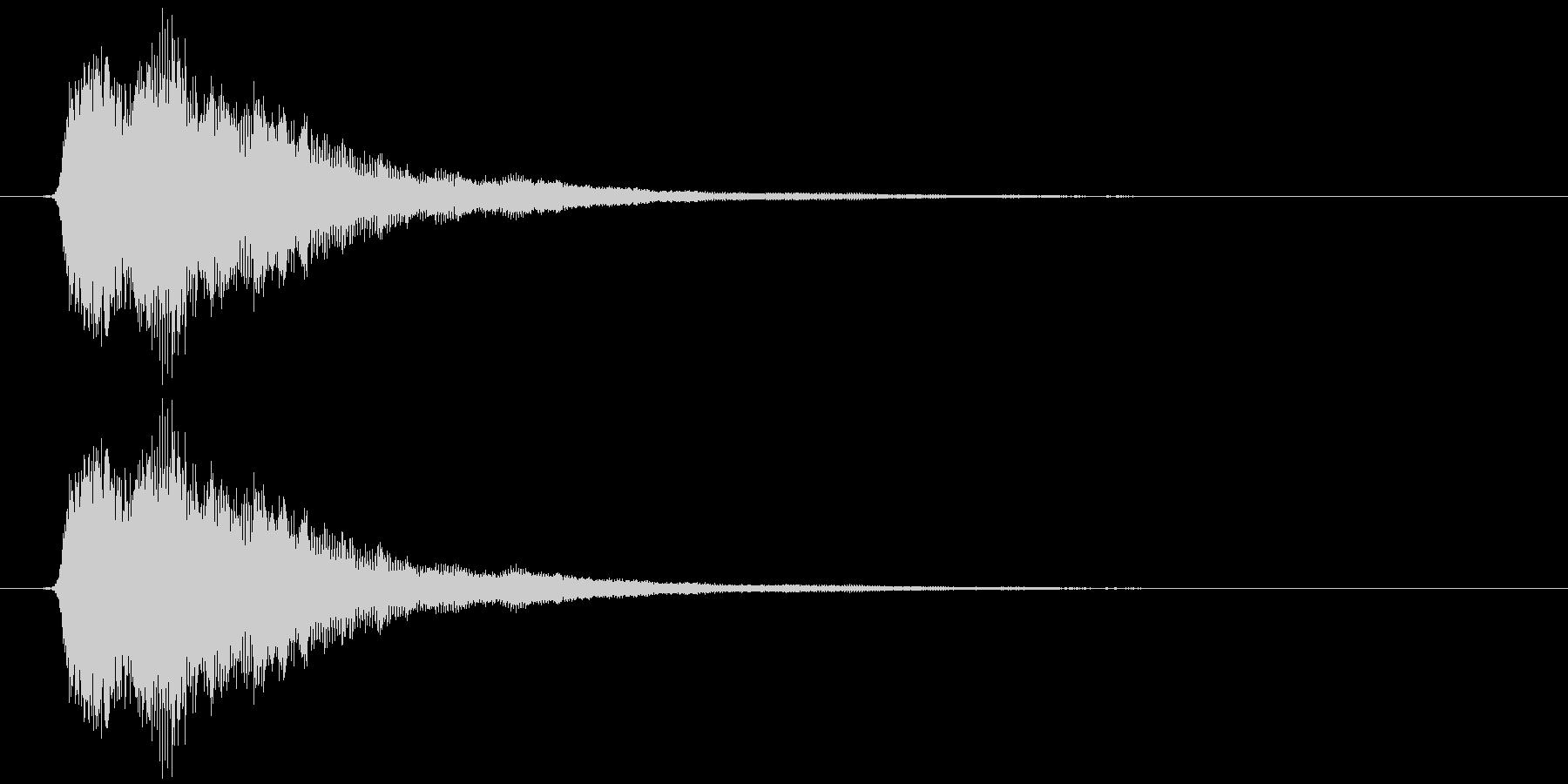 ポイーンの未再生の波形
