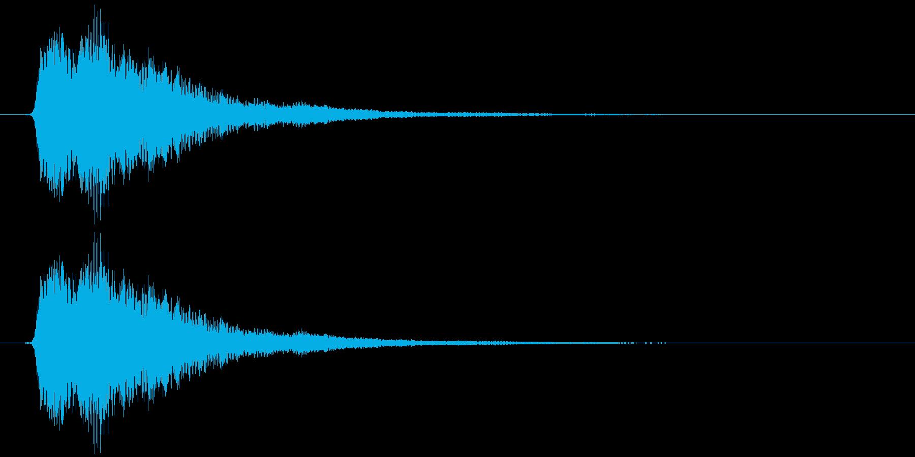 ポイーンの再生済みの波形