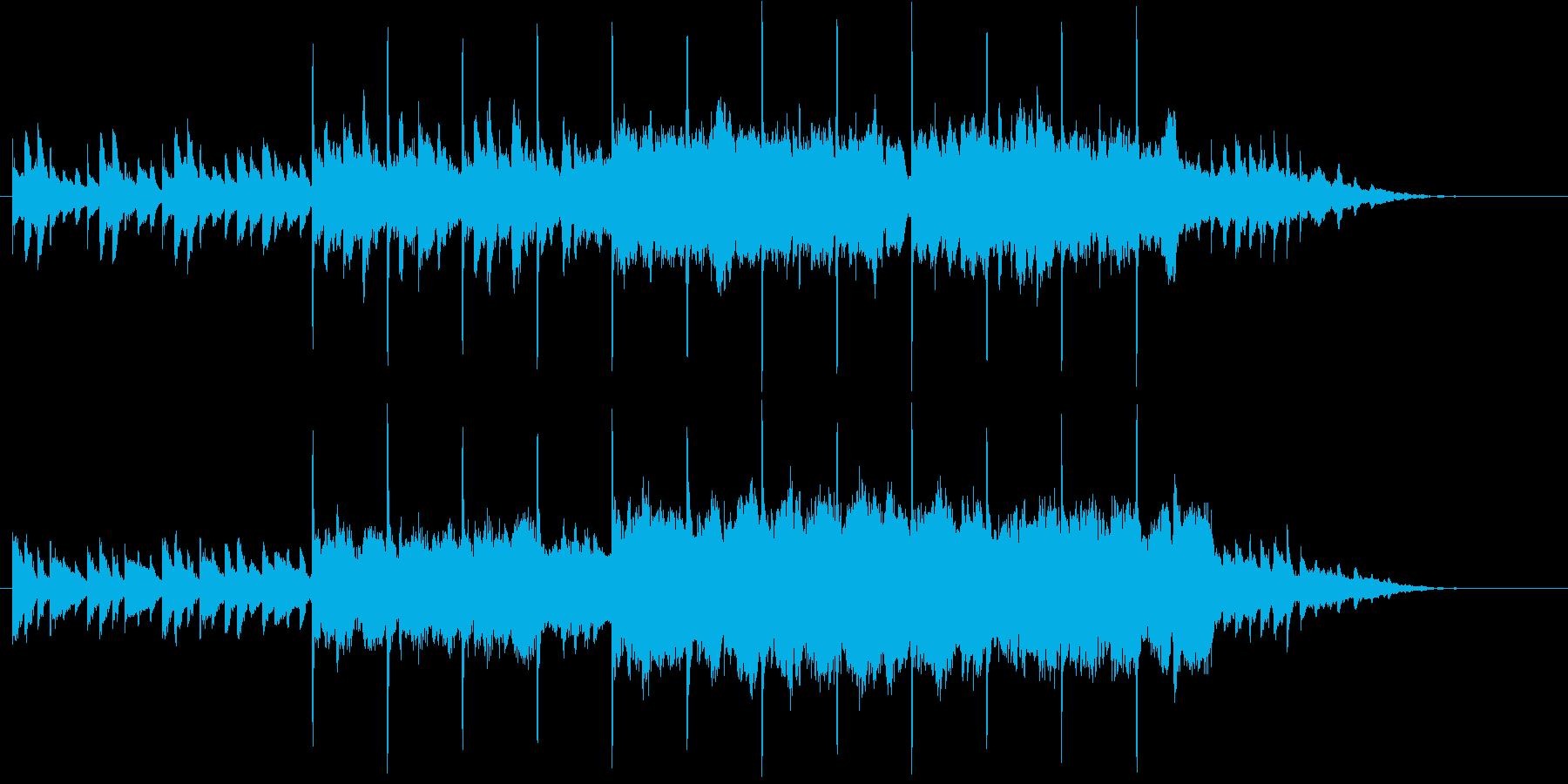 ピアノが印象的な物語性を感じるBGMの再生済みの波形
