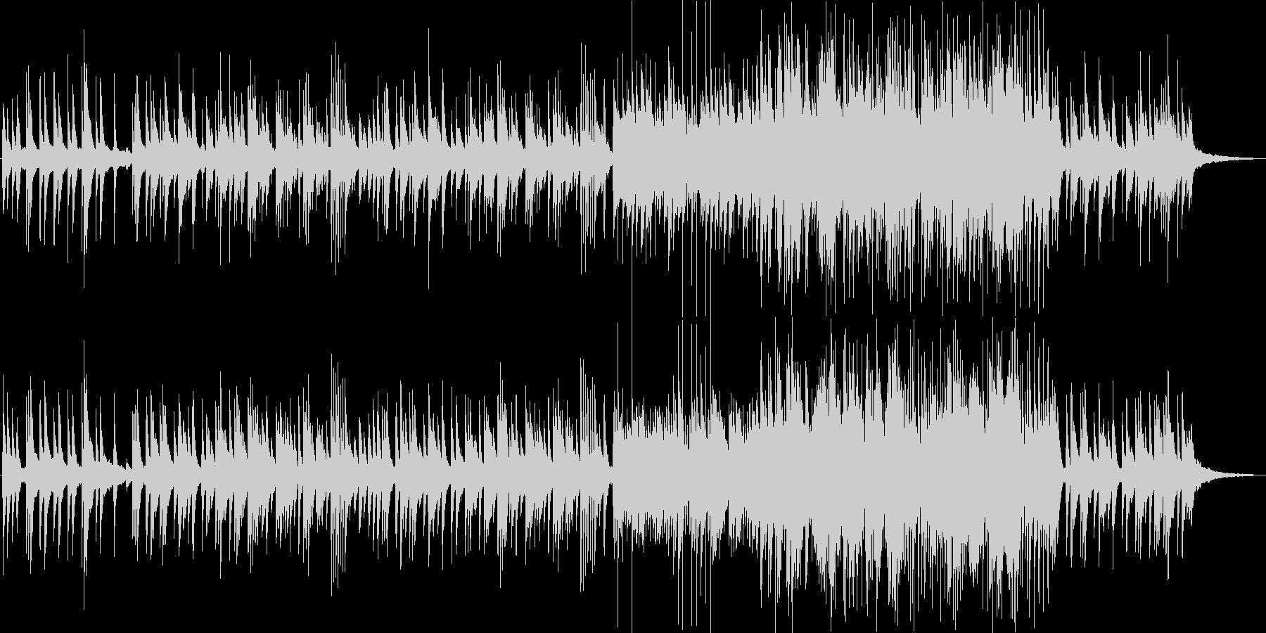 回想シーンを語り合うの未再生の波形